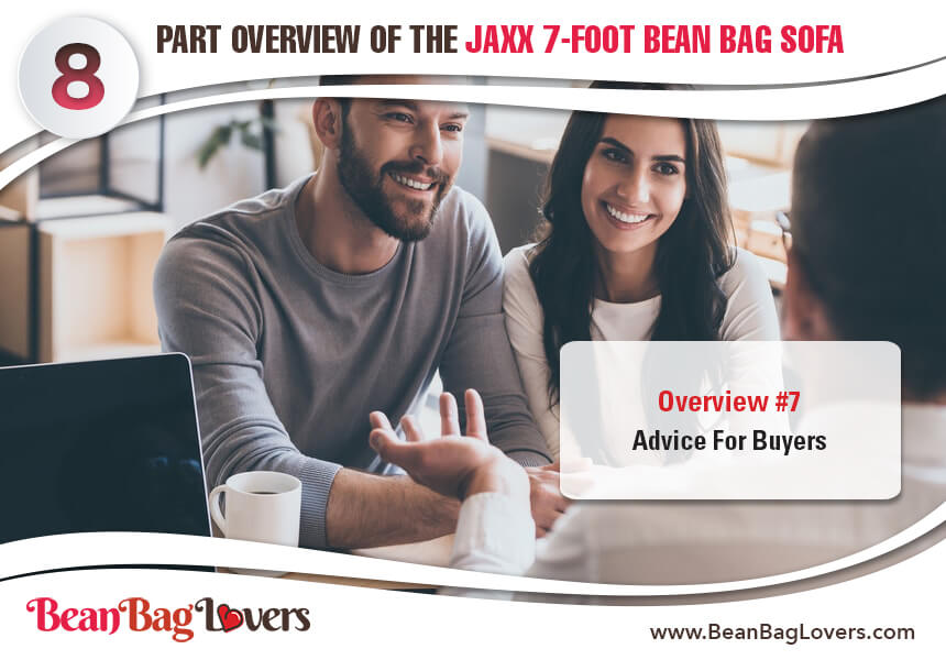 Jaxx giant bean bag